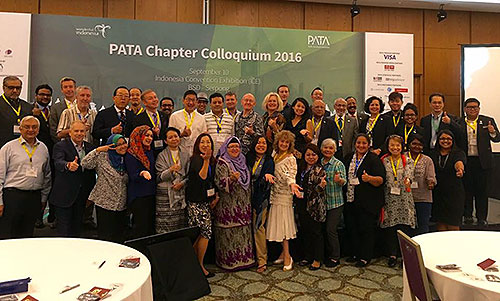 PATA Chapter Colloquium (PATA世界支部会議)2016にて